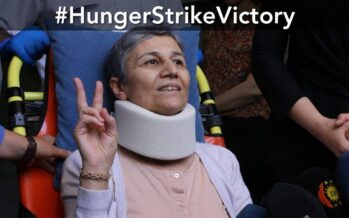 With the spirit of the hunger strikers to the end of Turkish fascism